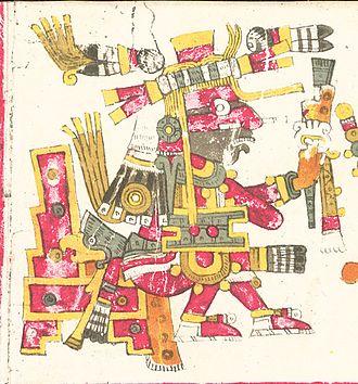 Xiuhtecuhtli - Xiuhtecuhtli Codex Borgia