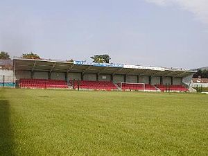 Solitude (football ground) - TheAway End