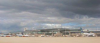 Ottawa Macdonald–Cartier International Airport - New terminal as seen from the tarmac