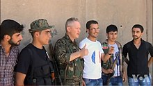 YPG Volunteer Michael Enright on Frontline VOA 1.jpg