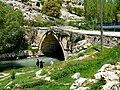 Yeşildere 05 2011 alte Brücke Taşköprü (Akköprü).jpg