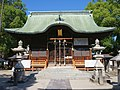 Yoka-jinja Shrine haiden.JPG