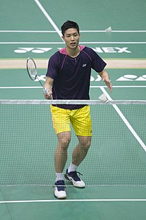 Chou Tien-chen Badminton player