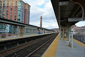 Yonkers station - Platforms at Yonkers station