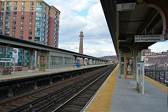 Yonkers station - Platforms at Yonkers station