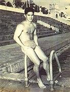 File:Yoshi Oyakawa at the Waikiki Natatorium War Memorial near Kaimana Beach.jpg