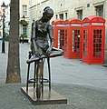 Young Dancer - Statue by Enzo Plazzotta Bow Street - London - 240404.jpg