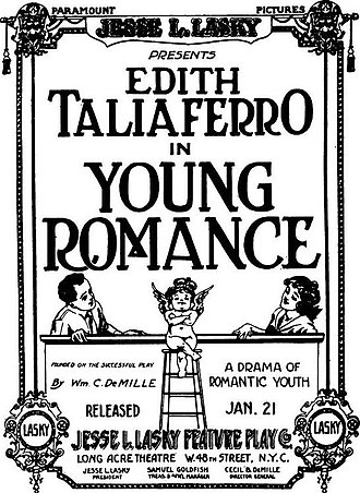 Young Romance (film) - Advertisement.