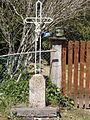Youx (Puy-de-Dôme) croix de chemin rue de la Mairie.JPG