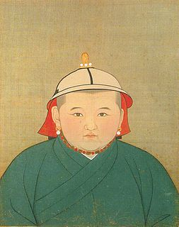 Rinchinbal Khan 14Th Khagan of the Mongol Empire