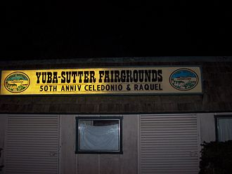 Yuba–Sutter area - Yuba–Sutter Fairgrounds main entrance.