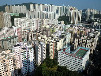 Kwun Tong - Yuet Wah Street apartments