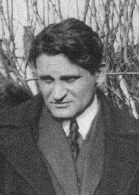 Yury Olesha at the Funeral of Vladimir Mayakovsky (cropped).jpg