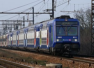 SNCF Class Z 20500 - Refurbished Z20672 at Cesson