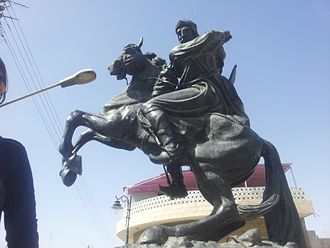 Saladin - Statue of Saladin in Damascus