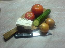Рецепт Шопский салат - gotovim-doma.ru