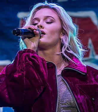Zara Larsson - Larsson in December 2016