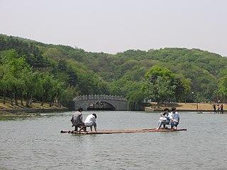 Pukou District District in Jiangsu, Peoples Republic of China