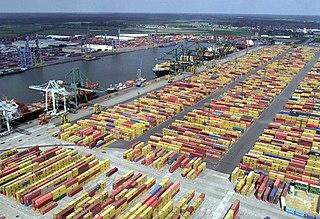 Port of Antwerp Maritime commercial facility in Antwerp, Belgium