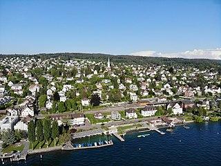 Zollikon Place in Zurich, Switzerland