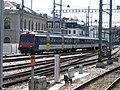 Zwitserse lokaal trein in Genève.JPG