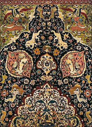 "Tabriz style ""Animal carpet"", Victoria and Albert Museum"