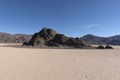 """The Racetrack,"" a playa with large volcanic outcroppings, in Death Valley National Park, California LCCN2013631022.tif"