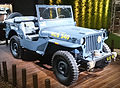 """ 15 - ITALY - Jeep (Fiat) stand in Milan - Willys MB - US NAVY - Seabees corp - U.S.N. NCB 540 blue convertible 4x4 03.jpg"