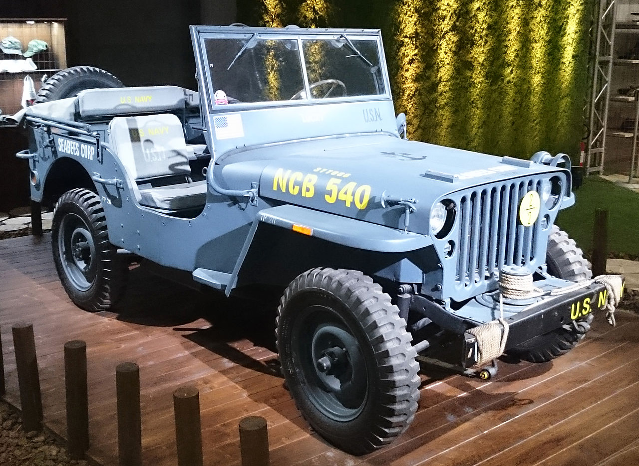 File Quot 15 Italy Jeep Fiat Stand In Milan Willys Mb