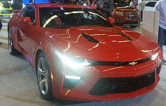Chevrolet Camaro (sixth generation) - Image: '16 Chevrolet Camaro Coupe (MIAS '16)