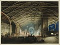 'Cyfarthfa Ironworks Interior at Night', by Penry Williams, (1825).jpg