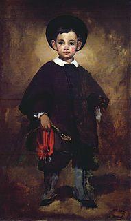<i>Little Lange</i> C. 1861 painting by Édouard Manet