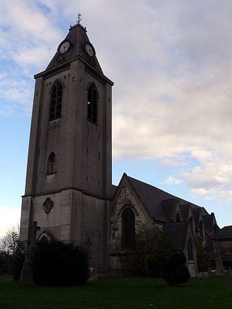 Villeneuve-d'Ascq - Saint-Sébastien d'Annappes church