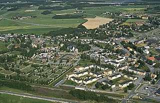 Öjebyn old town now a section of Piteå, Sweden