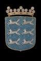Österbottens vapen med hermeliner, 1660 - Livrustkammaren - 108741.tif