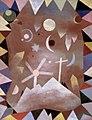 Über Bergeshöhe by Paul Klee, 1917.jpg