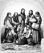 Über Land und Meer - Romanians in Transylvania, 1872