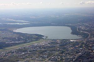 Lake Ülemiste - Image: Ülemiste