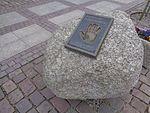Łeba-Cast hand of Bronisław Komorowski.jpg