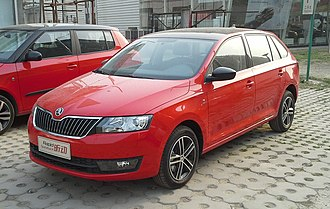 SAIC Volkswagen - Image: Škoda Rapid Spaceback China 2014 04 24