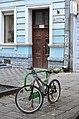 Велоінфраструктура Тернополя - Велопарковка біля будинку № 4 на вулиці Михайла Грушевського - 17090997.jpg