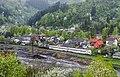 ДЭЛ02-006, Украина, Закарпатская область, станция Рахов (Trainpix 132339).jpg