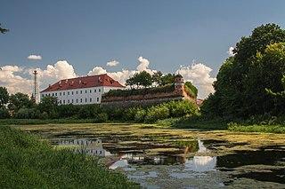 Dubno City in Rivne Oblast, Ukraine