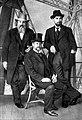 Д. И. Менделеев, Ченей и Ф. И. Блюмбах на Эйфелевой башне в Париже.jpg