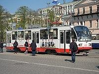 Екатеринбург, пр.Ленина, трамвай, 13.05.2015 - panoramio.jpg