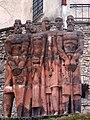 Монумент біля Олеського замку.jpg