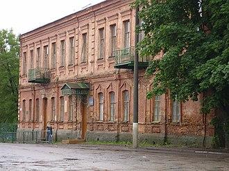 Nevel (town) - Image: Невель, Училище panoramio