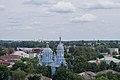 Собор Преображения Господня в г.Новозыбков (1911г) вид с колокольни Никольско-Рождественской церкви.jpg