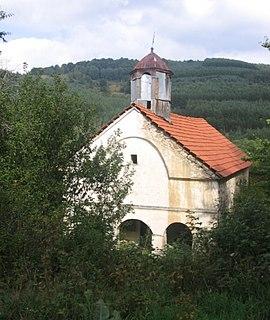Topli Dol Village in Pčinja District, Serbia