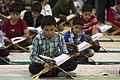 عکس های مراسم ترتیل خوانی یا جزء خوانی یا قرائت قرآن در ایام ماه رمضان در حرم فاطمه معصومه در شهر قم 16.jpg
